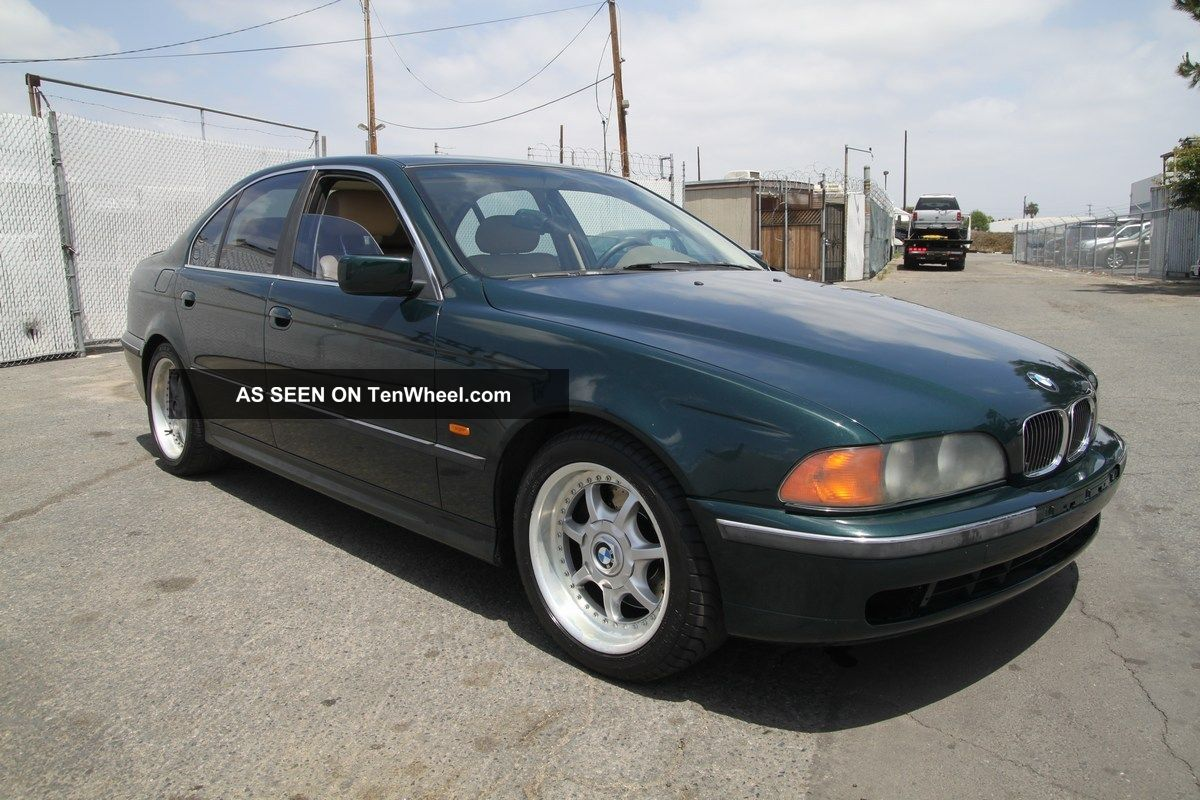 1997 Bmw 540i Manual 8 Cylinder 5-Series photo