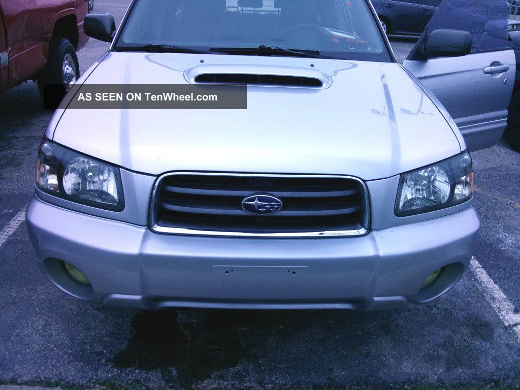 2004 Subaru Forester Xt Wagon 4 - Door 2.  5l Forester photo
