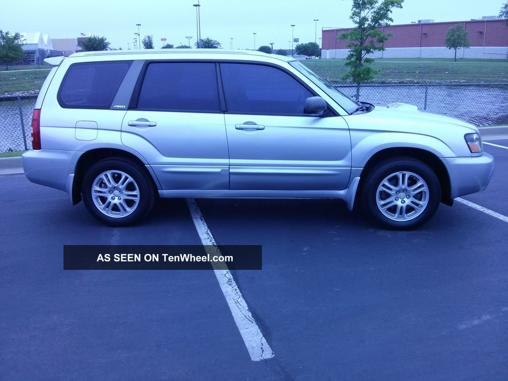 2004 Subaru Forester Xt Wagon 4 Door 2 5l