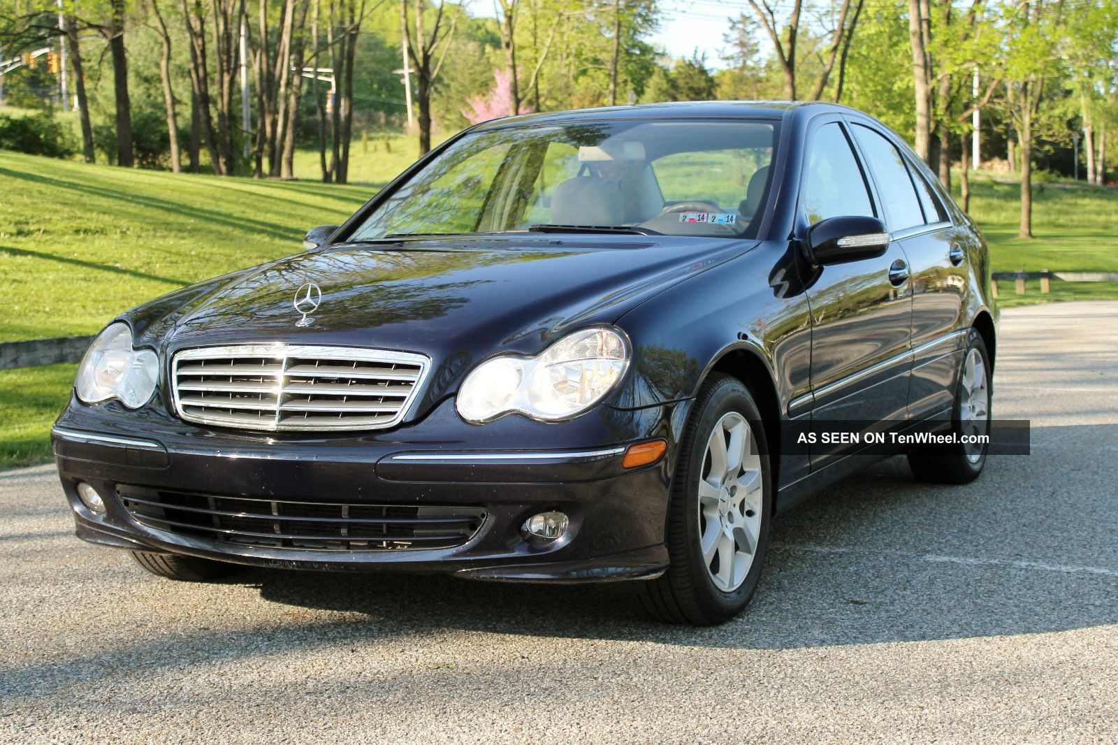 2007 mercedes benz c280 4matic sedan 4 door 3 0l