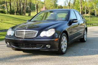 2007 Mercedes - Benz C280 4matic Sedan 4 - Door 3.  0l photo