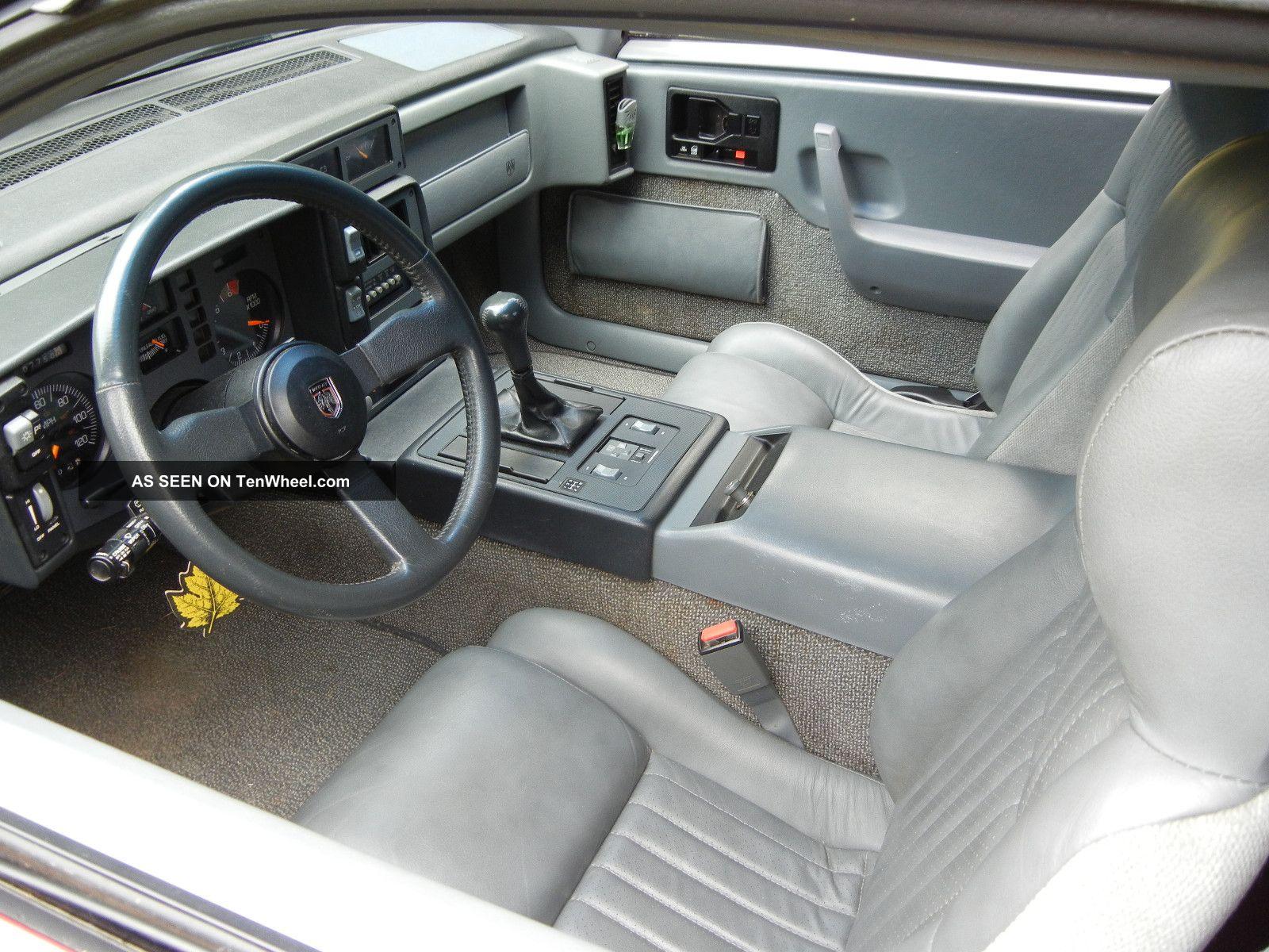 1988 Pontiac Fiero Gt Coupe 2 Door 2 8l