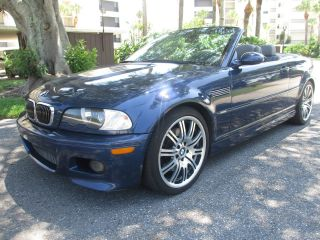 2005 Bmw M3 Convertable Fully Loaded Florida Car photo