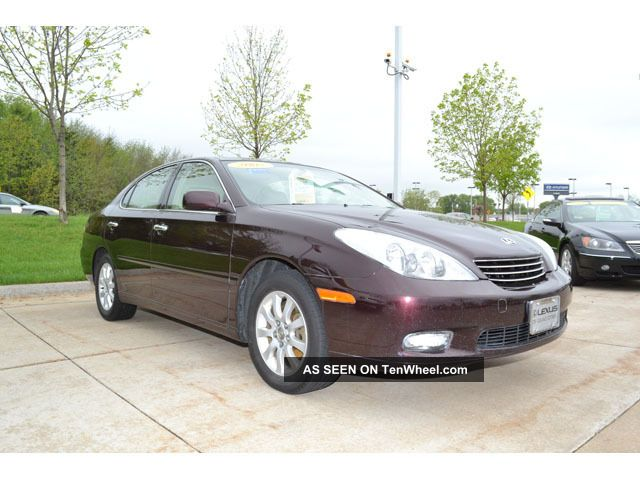 2002 Lexus Es300 Base Sedan 4 - Door 3.  0l ES photo