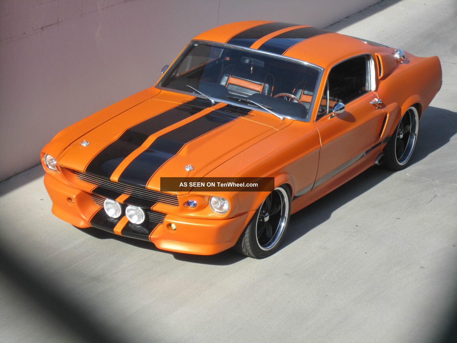 1968 Ford Mustang Fastback Gt500 Eleanor Mustang photo