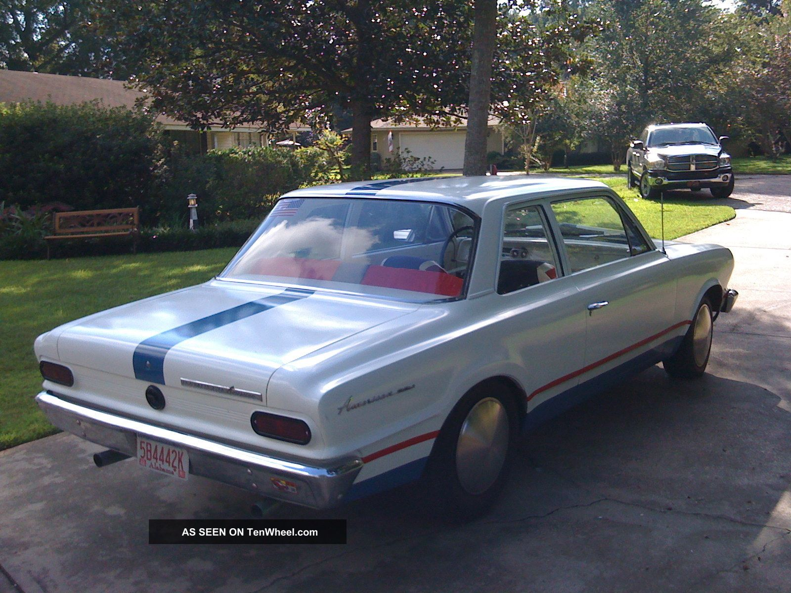 1964 Rambler American,  2 Door Red White And Blue AMC photo