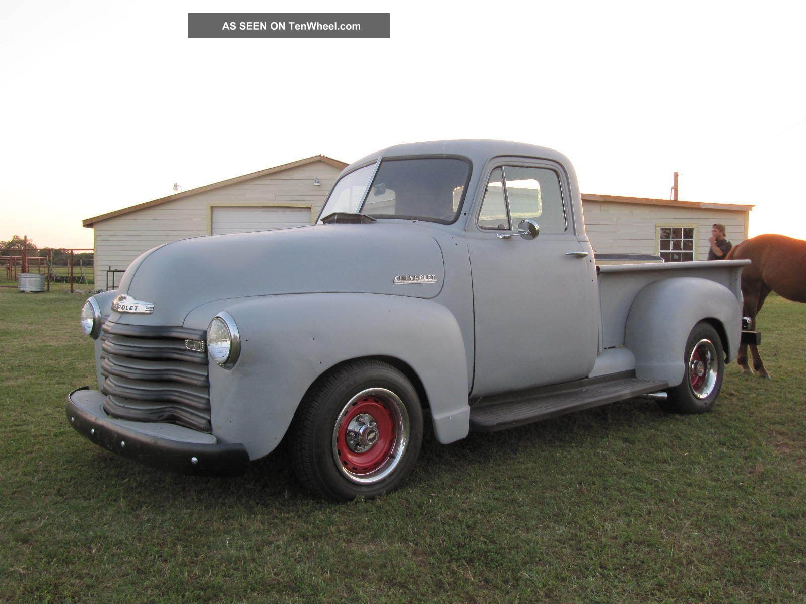 1951 Chevy Truck 3100 350 / 350 Runs And Drive Great Future Rat Rod ...