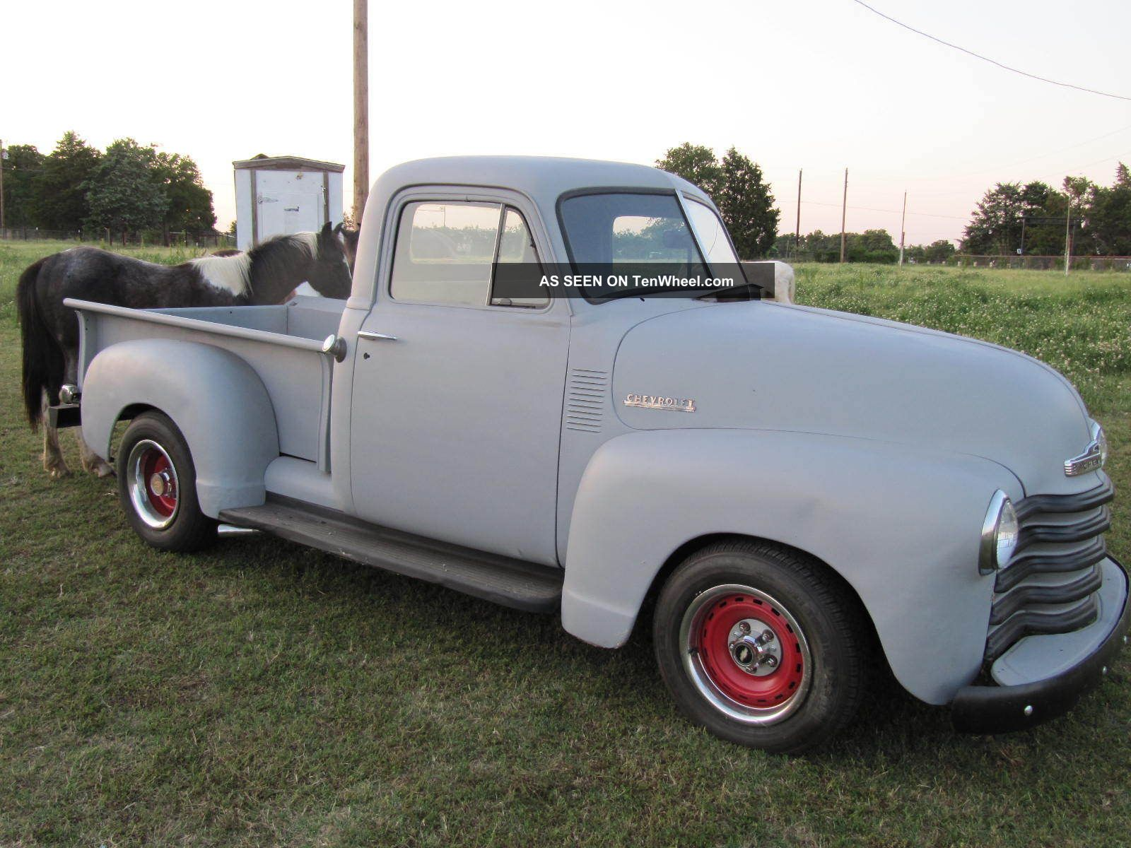 1951 Chevy Truck 3100 350 / 350 Runs And Drive Great Future Rat ...