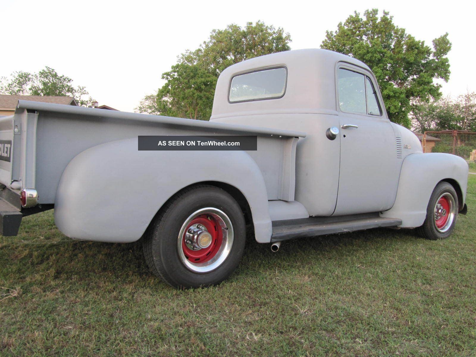 Old School Chevy Trucks Old 1951 Chevy Truck 3100