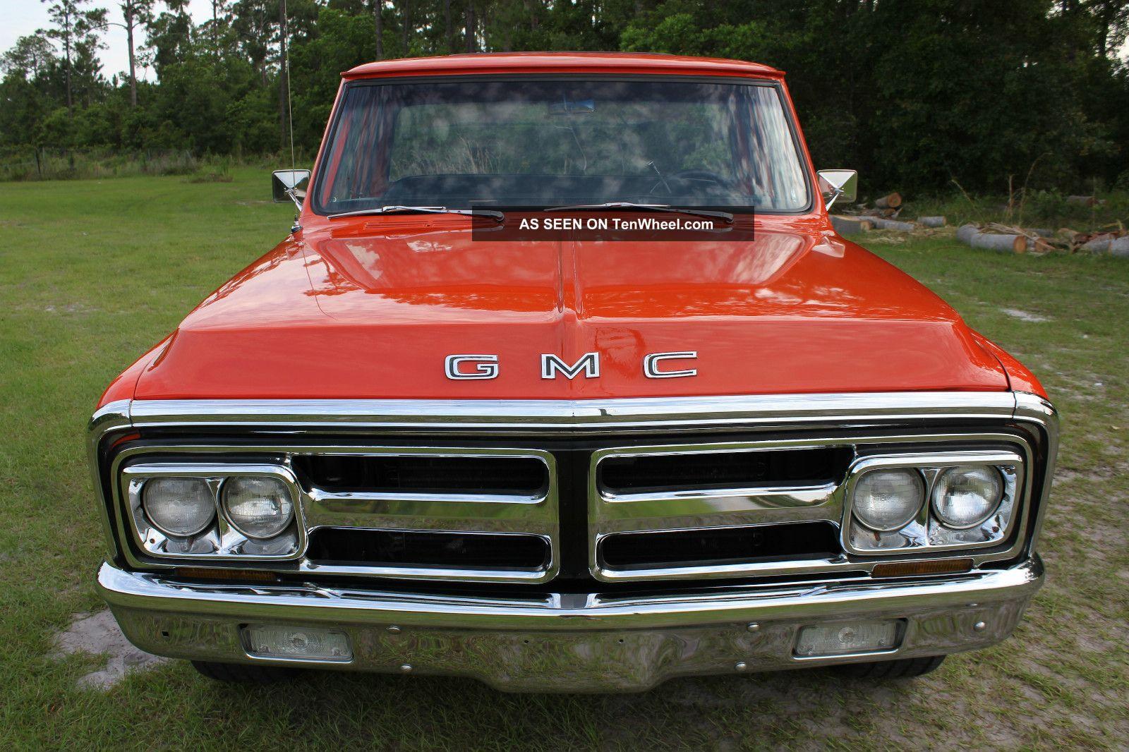 1971 Gmc 1500 Custom Pickup Truck General Motors Make Me ...