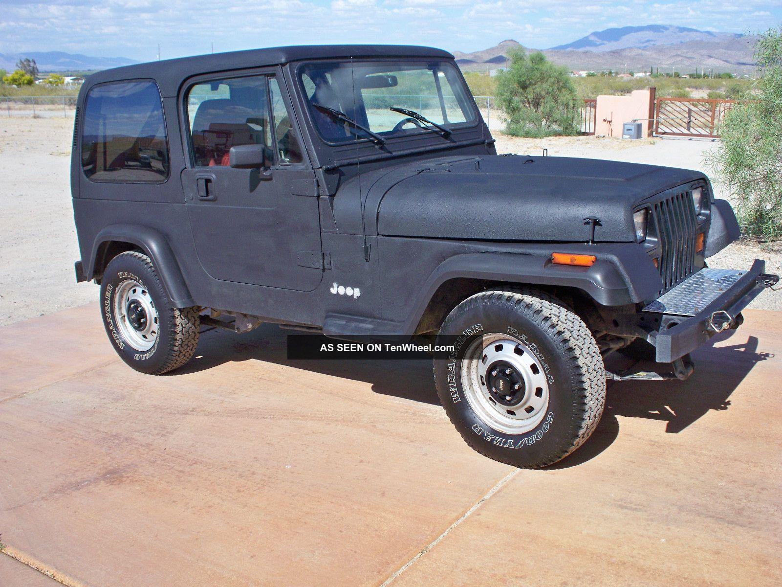 1991 jeep wrangler 4wd hard top. Black Bedroom Furniture Sets. Home Design Ideas