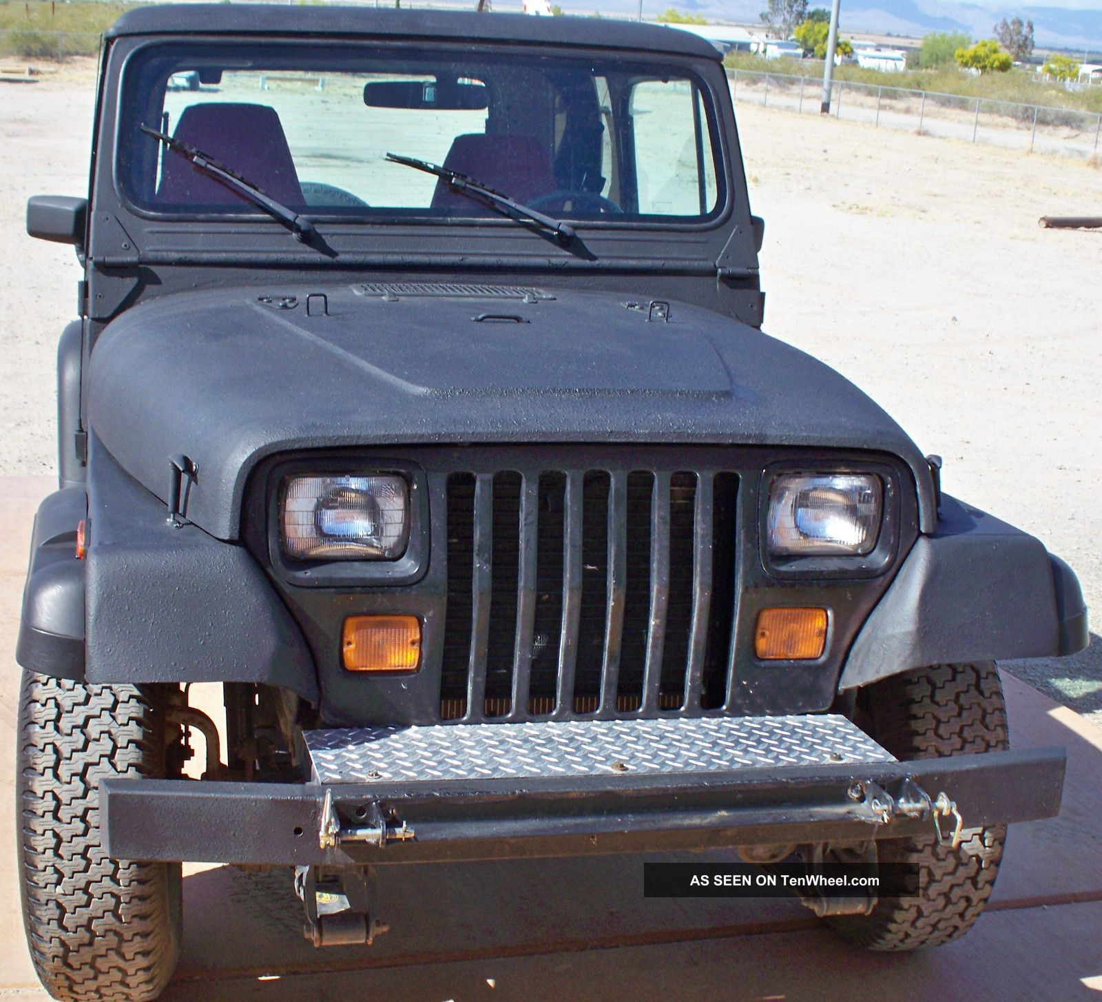 1991 Jeep Wrangler 4wd Hard Top