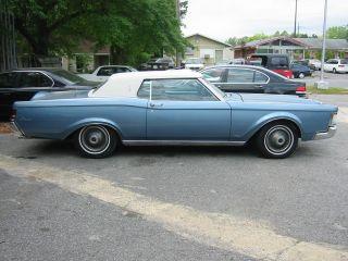 1969 Mk Iii Medium Blue Met.  / Blue Int.  & White Vinyl Top photo