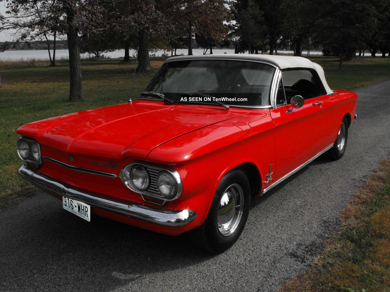 1963 Chevrolet Corvair Monza Spyder Convertible