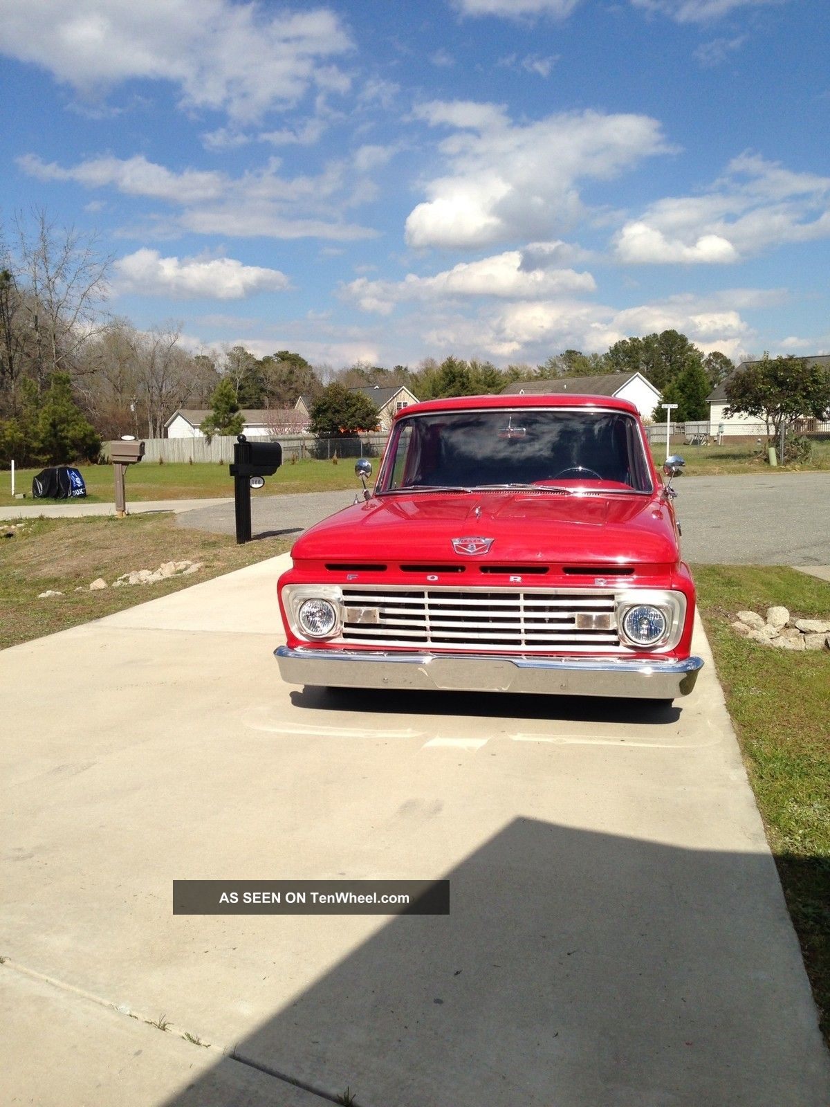 Cars Trucks Ford F 100 Web Museum 1964 F100 Short Bed Photo