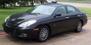 2004 Lexus Es 330 Sport Design Edition Black With Tan - photo