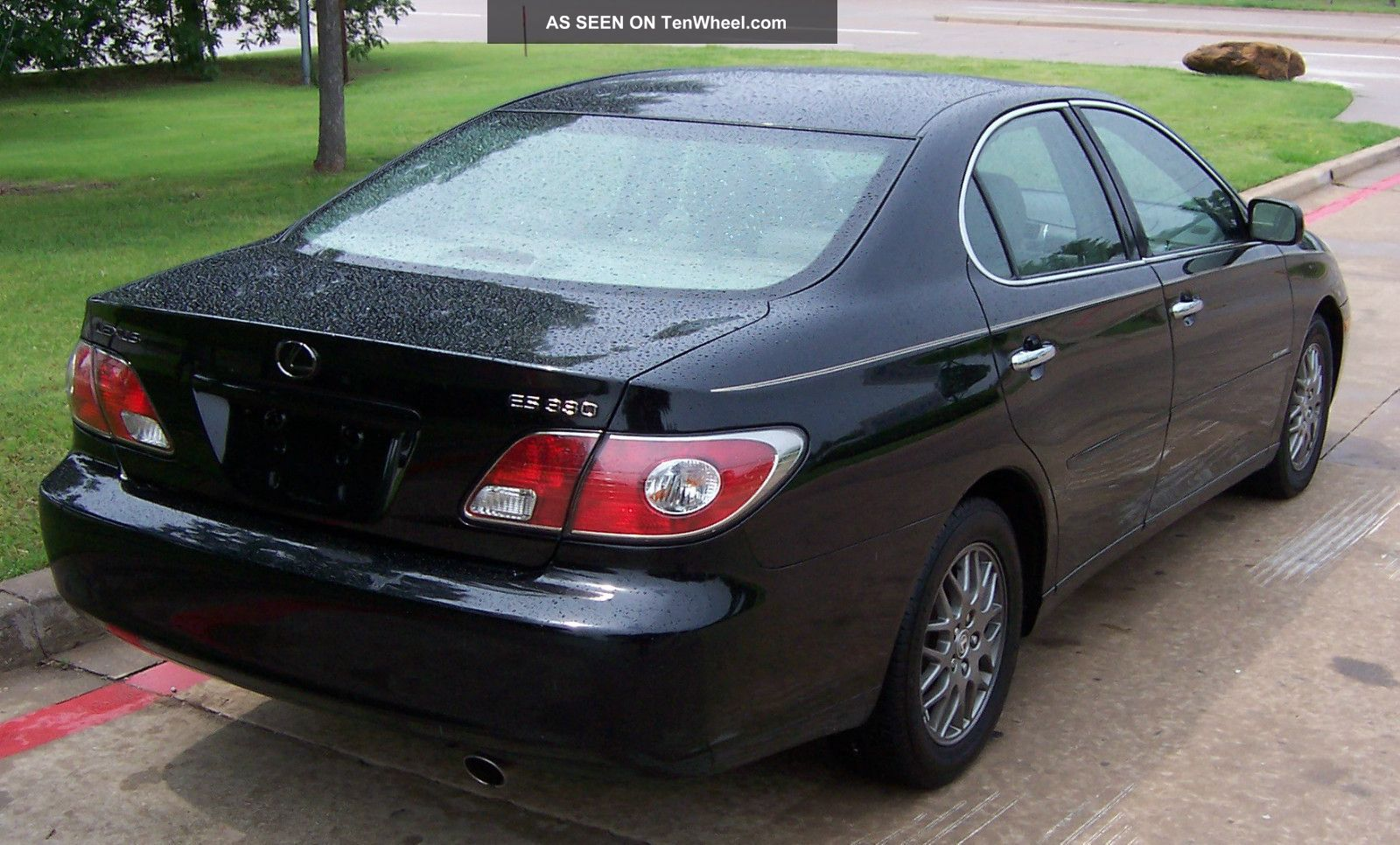 2004 Lexus Es 330 Sport Design Edition Black With Tan