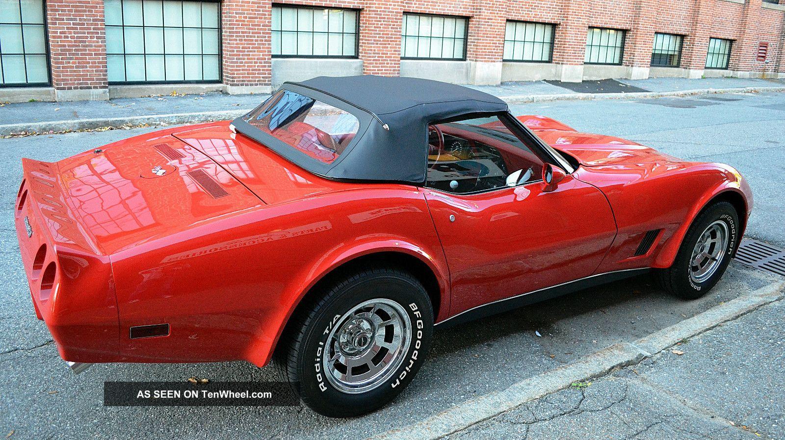 Chevrolet Corvette Convertible Lgw