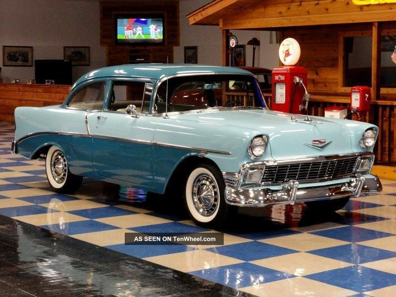 1956 Chevrolet 210 2dr Post Bel Air/150/210 photo