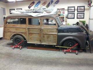 1948 Dodge B1 Woodie Woody Station Wagon photo