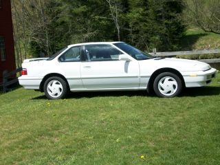 1991 Honda Prelude Si Alb Coupe 2 - Door 2.  1l photo