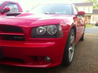 2007 Dodge Charger Srt8 Red Very Mopar Hemi photo