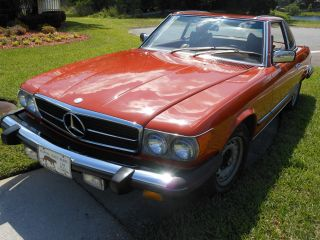 1979 Mercedes - Benz 450 Sl - - Estate Item - Never In The Rain photo