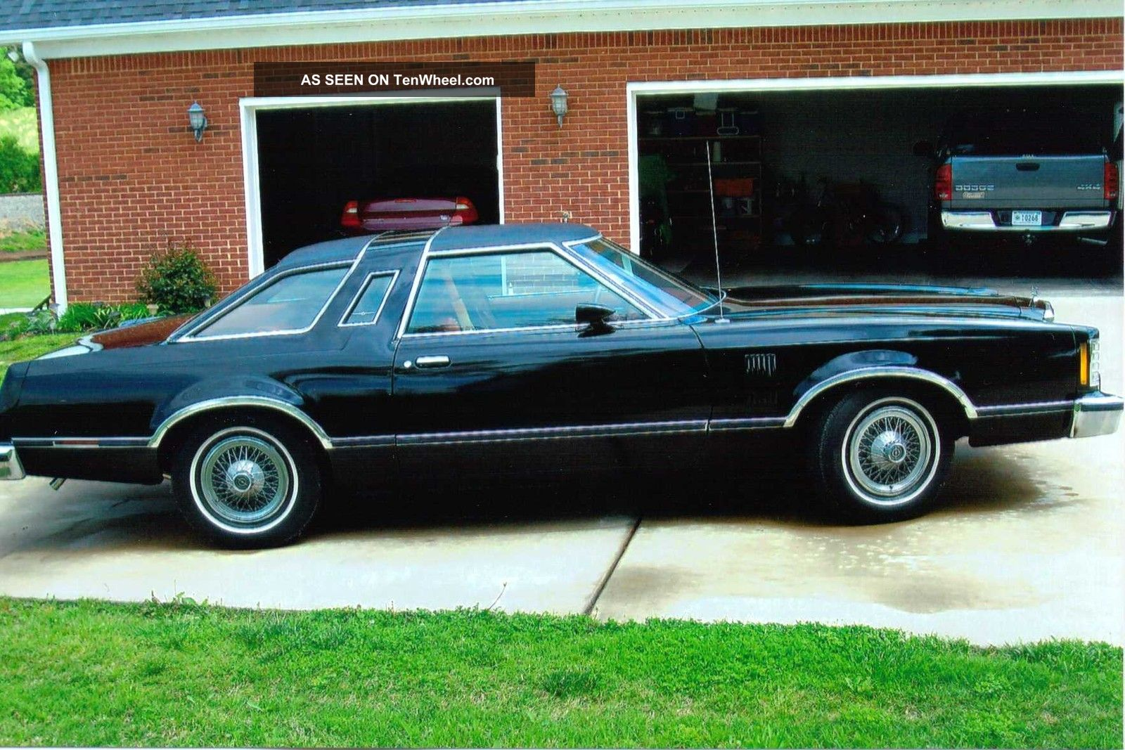 1978 Ford Thunderbird Black With Red Interior