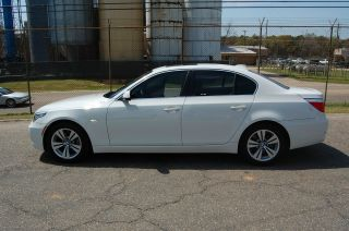 2010 Bmw 528i Bmw Car With Fully Transferrable White photo