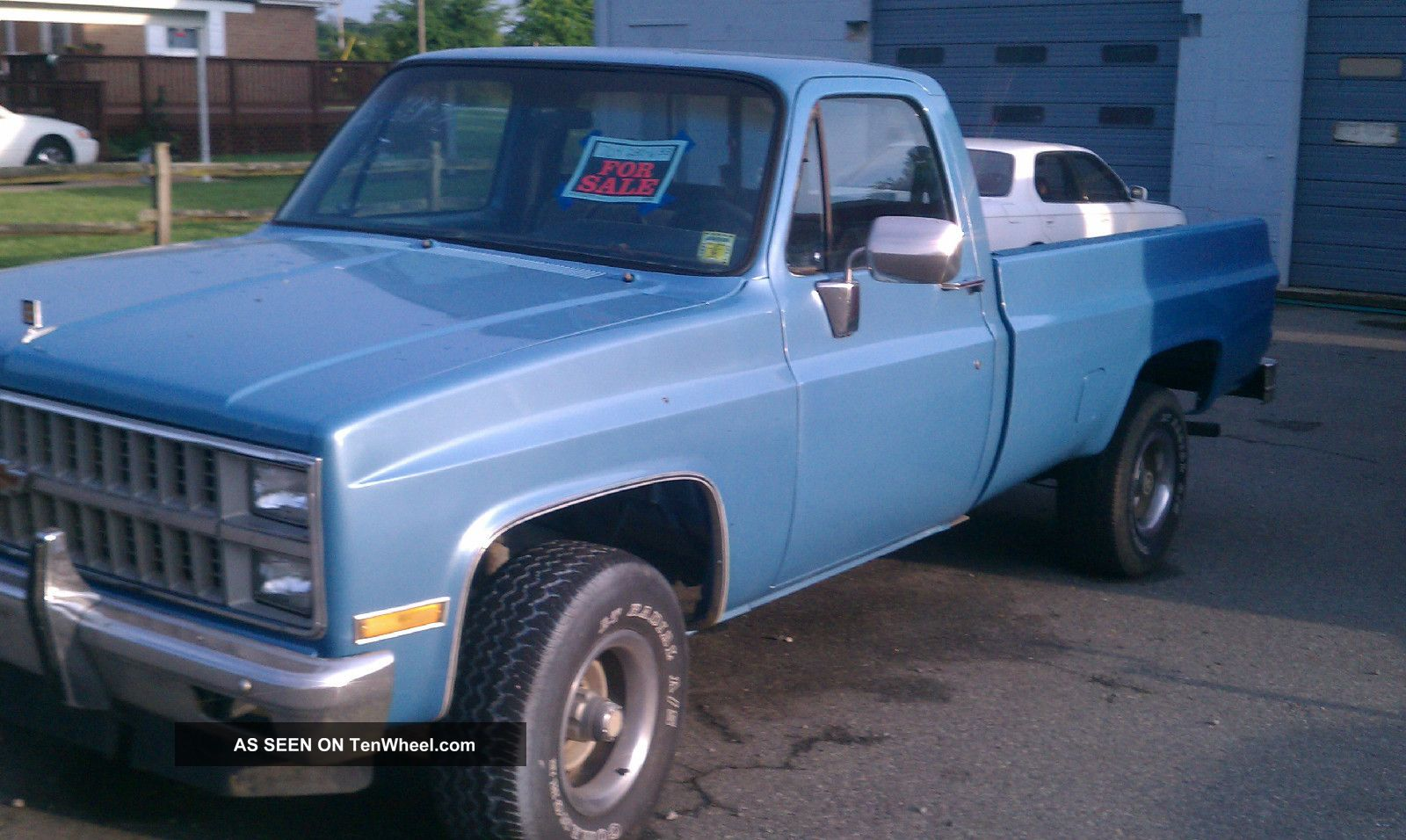 1982 4x4 Chevy Longbed Pickup