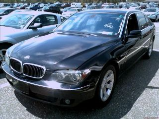 2006 Bmw 750li Base Sedan 4 - Door 4.  8l photo
