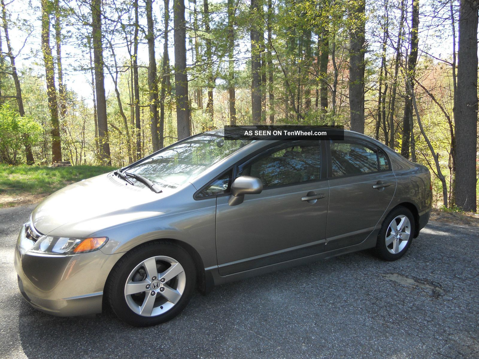 2007 Honda Civic Ex Sedan 4 - Door 1.  8l Civic photo