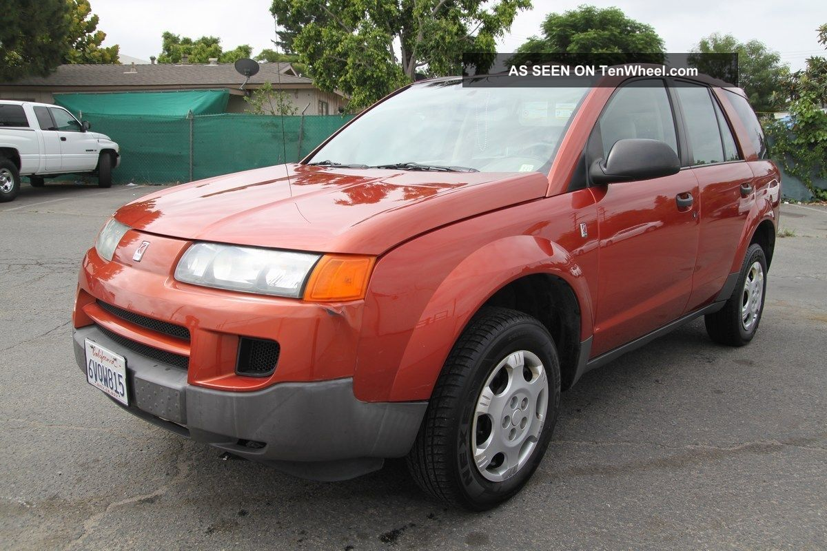 2003 Saturn Vue Automatic 4 Cylinder Transmission