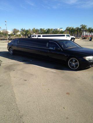 2002 Bmw 745 Limo Limousine 140