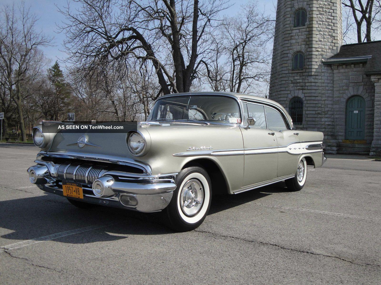 1957 Pontiac Star Chief,  347 Cu,  V8,  Silver Beige Other photo