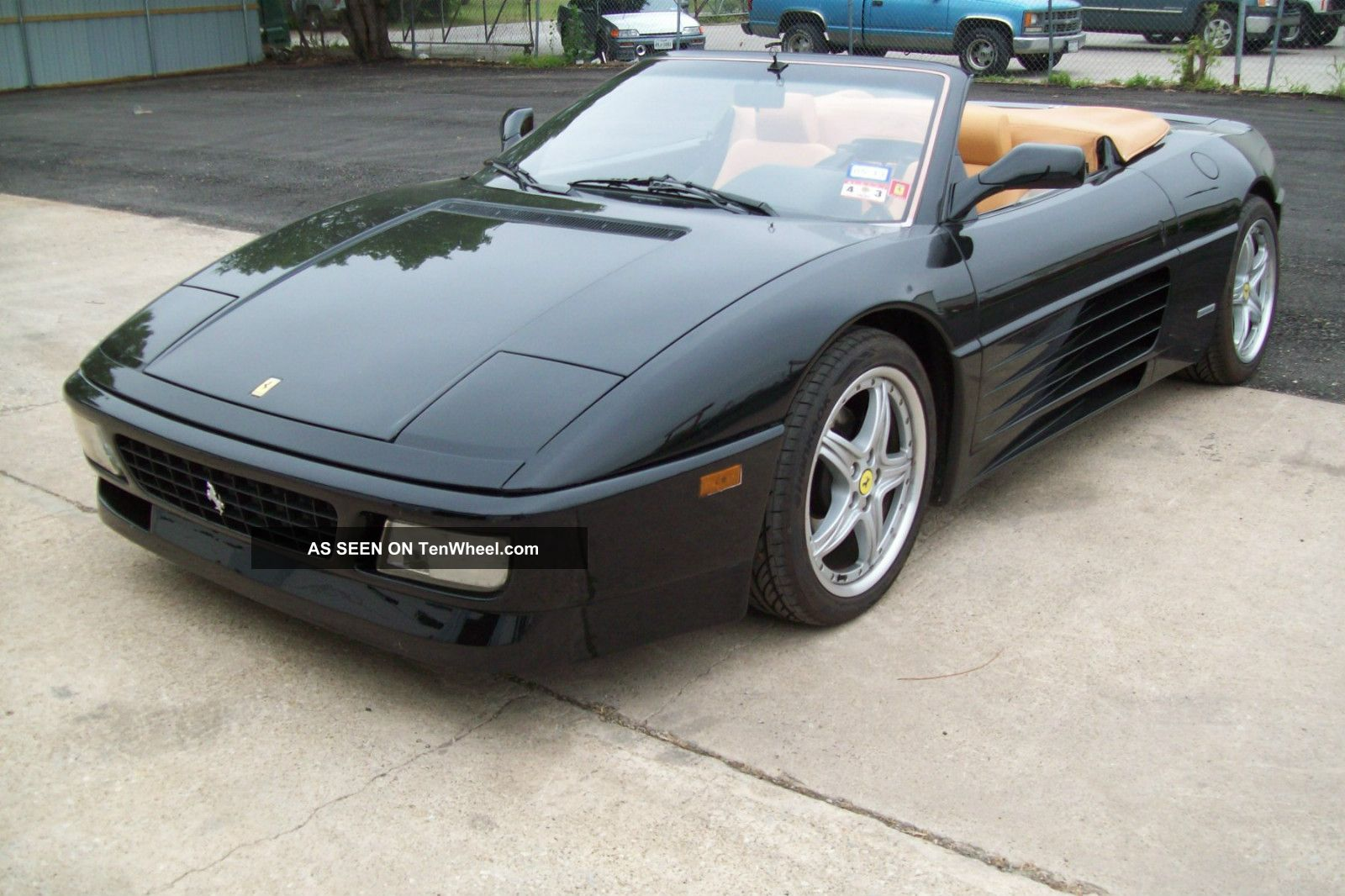 1995 Ferrari 348 Spider Base Convertible 2 - Door 3.  4l 348 photo