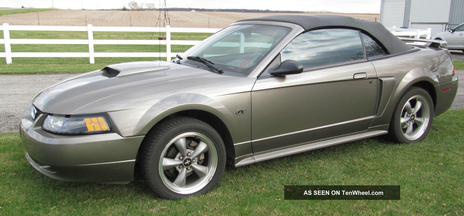 2001 ford mustang gt convertible 2 door 4 6l. Black Bedroom Furniture Sets. Home Design Ideas