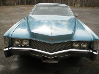 1969 Cadillac Eldorado Base Hardtop 2 - Door 7.  7l photo