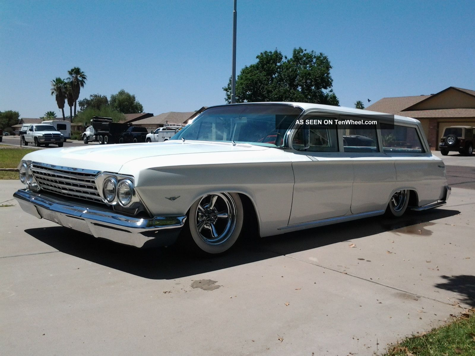 1962 Chevrolet Biscayne Wagon,  Air Bagged,  Shaved Door Handles,  Bel Air,  Impala Other photo