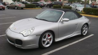 2004 Porsche 911 Carrera 4s Convertible 2 - Door 3.  6l photo