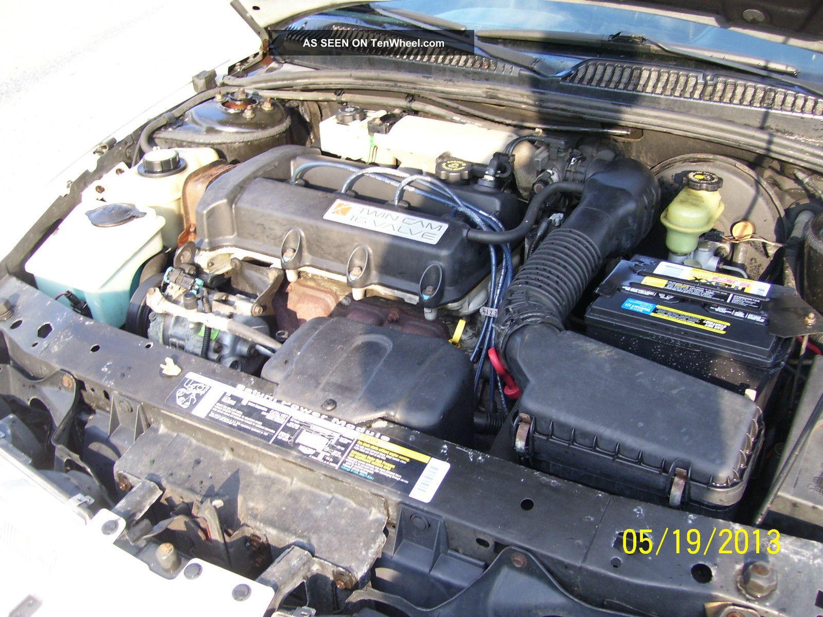 1997 Saturn Sl2 Sedan Automatic Transmission 4 Door 1
