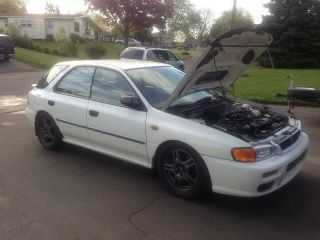 1998 Subaru Impreza Wagon W / 04 Wrx Swap photo