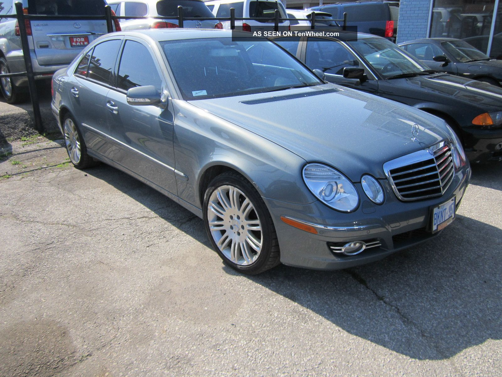2007 mercedes benz e 350 4 matic