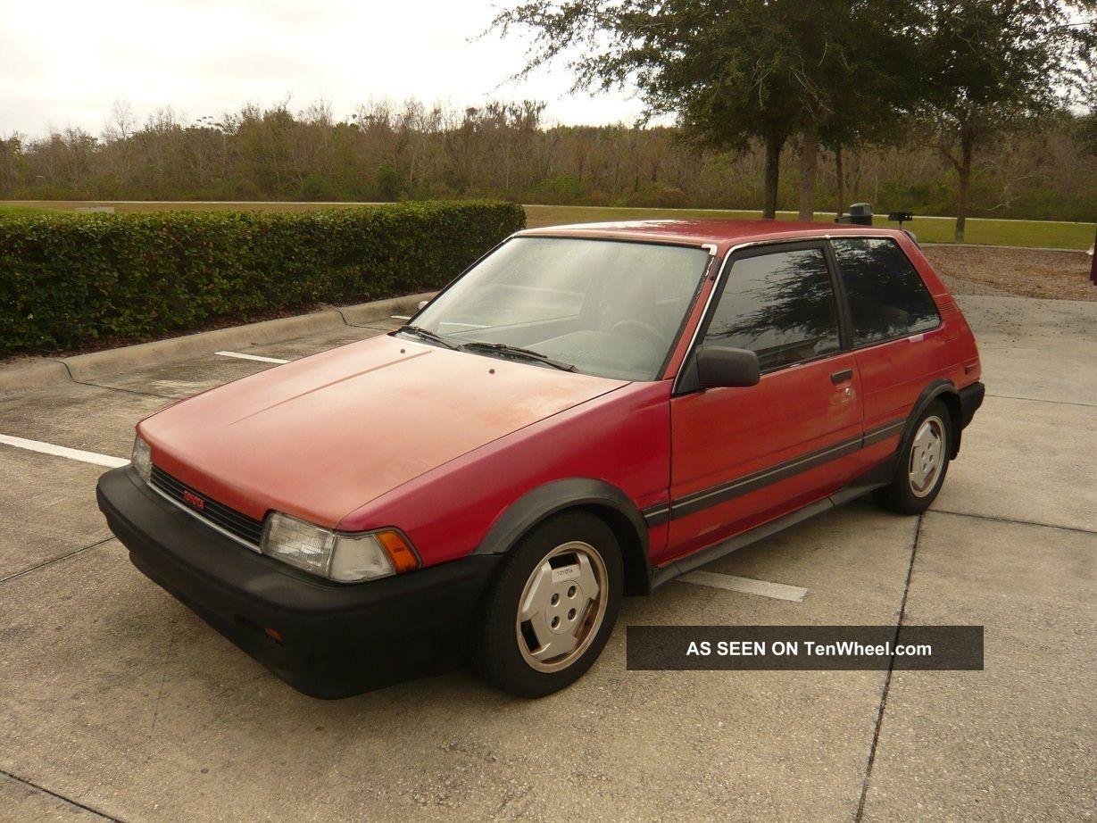 1987 toyota corolla fx16 hatchback 2 door 1 6l. Black Bedroom Furniture Sets. Home Design Ideas