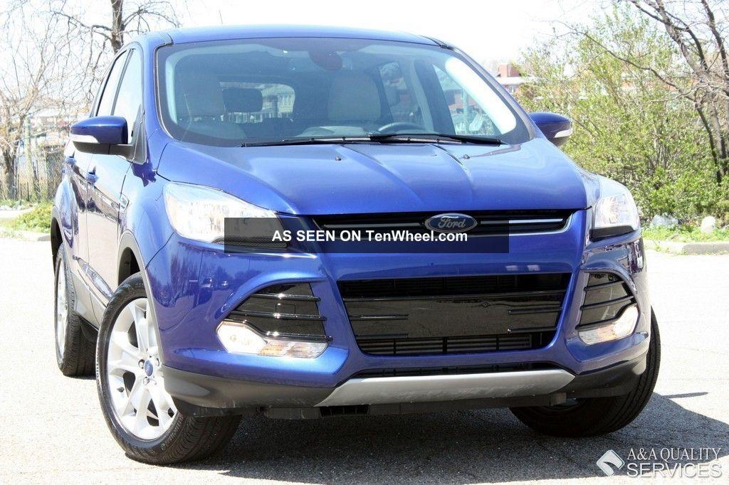 2013 Ford Escape Sel 2.  0l Ecoboost Awd Microsoft Sync Escape photo