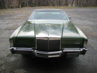 1972 Lincoln Continental Base 7.  5l photo