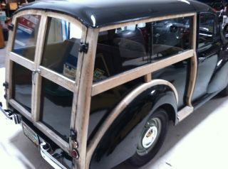 1957 Morris Minor Traveller Woodie Woody Station Wagon photo