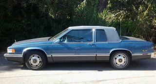 1991 Cadillac Deville Spring Edition Coupe 2 - Door 4.  9l photo