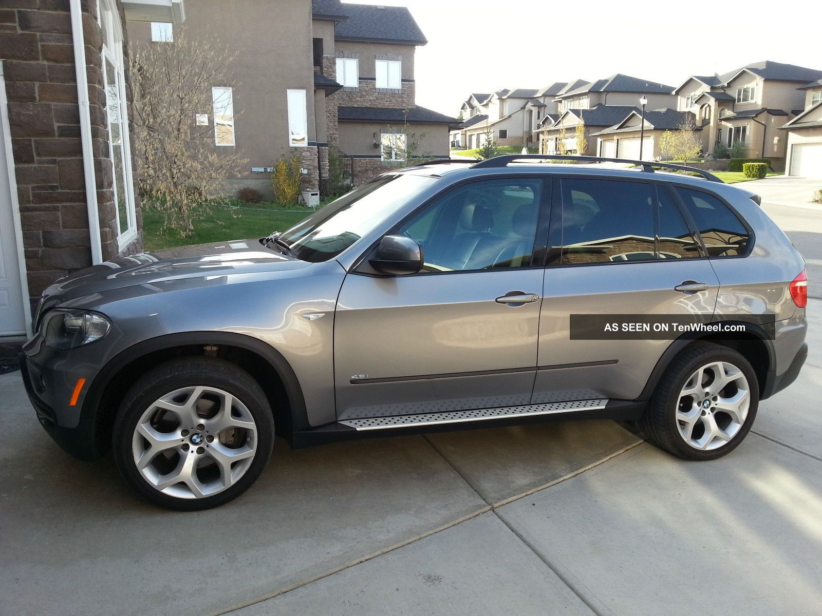2008 Bmw X5 4.  8i Sport Suv Private 2 Sets Of Wheels Autocheck Report X5 photo