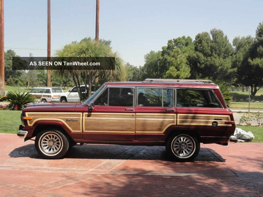 1991 jeep grand wagoneer base sport utility 4 door 5 9l. Black Bedroom Furniture Sets. Home Design Ideas